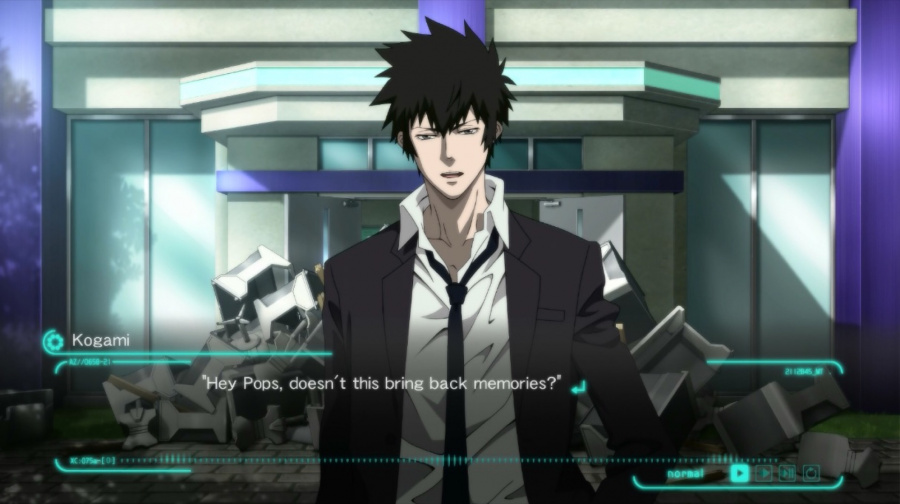 Psycho-Pass: Mandatory Happiness Review - Screenshot 2 of 4