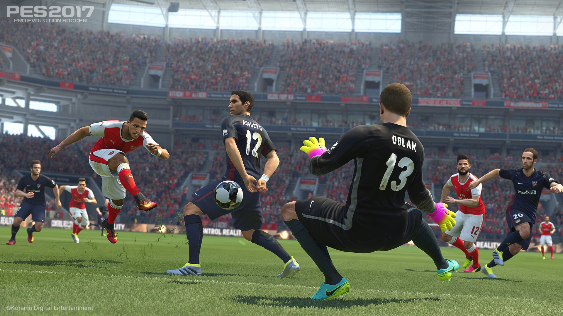 PES 2017: Pro Evolution Soccer Review (PS4) | Push Square