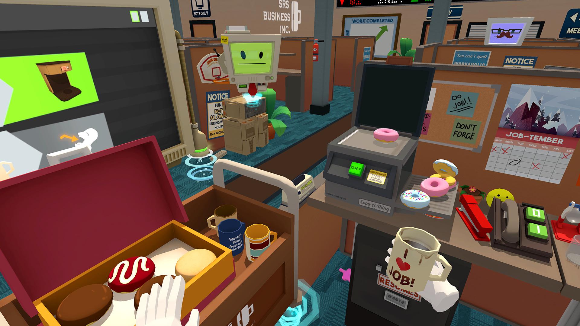 Job Simulator PS4 PlayStation 4 Game Profile News