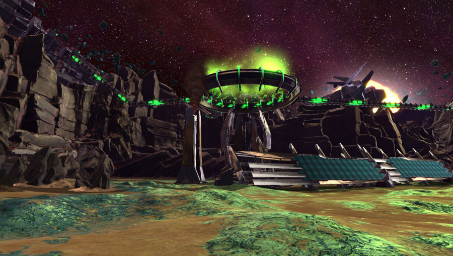 Super Stardust Ultra VR Review - Screenshot 1 of 2