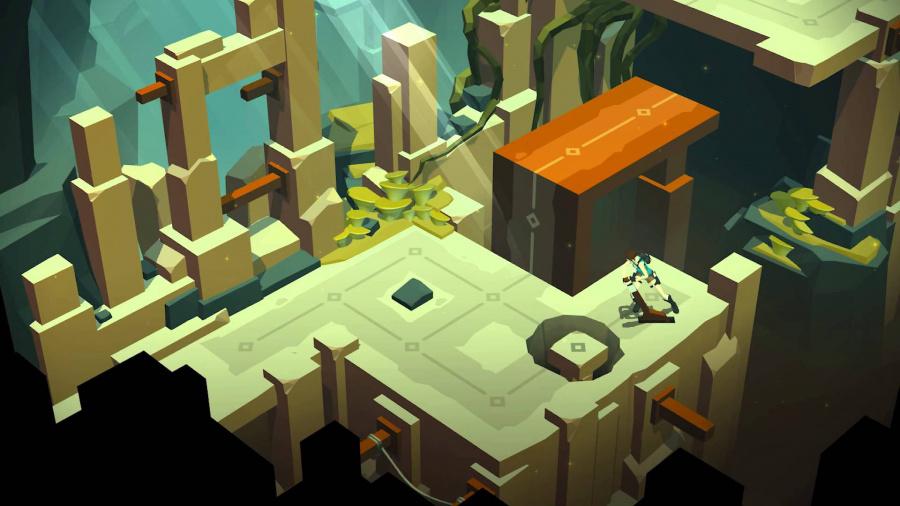 Lara Croft Go Review - Screenshot 1 of 4
