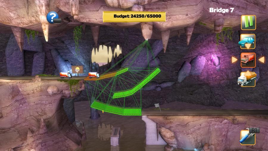 Bridge Constructor Review - Screenshot 1 of 2