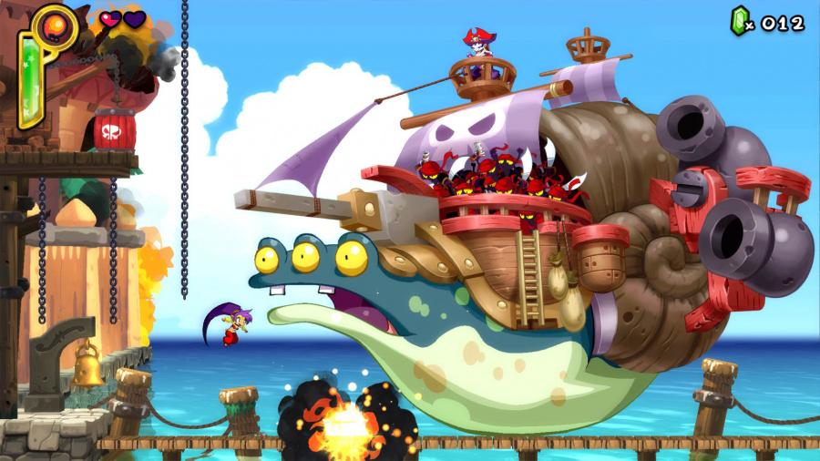 Shantae: Half-Genie Hero Review - Screenshot 1 of 3
