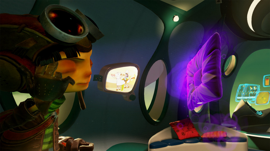 Psychonauts in the Rhombus of Ruin Review - Screenshot 2 of 4