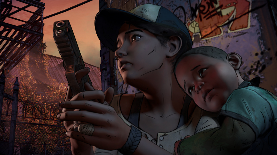 The Walking Dead: A New Frontier - Episode 3: Above the Law Review - Screenshot 1 of 2