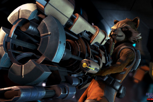 Guardians of the Galaxy: Episode One - Tangled Up in Blue Screenshot