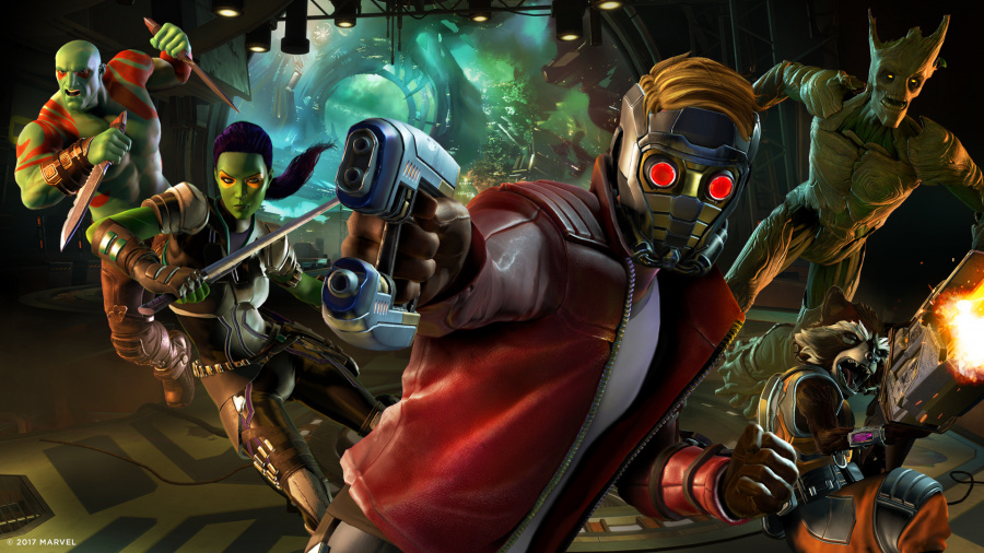 Guardians of the Galaxy: Episode One - Tangled Up in Blue Review - Screenshot 1 of 3