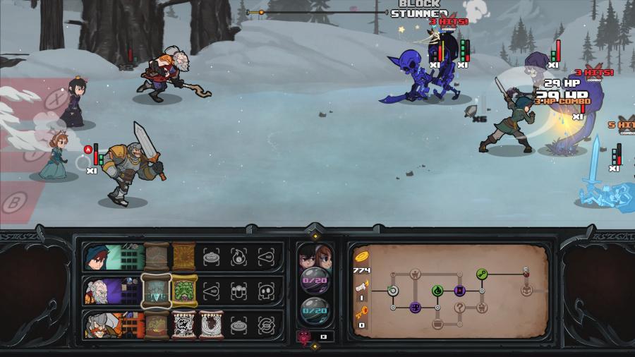 Has-Been Heroes Review - Screenshot 1 of 3