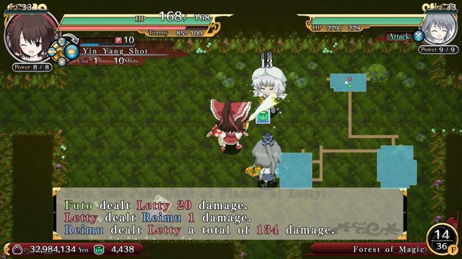 Touhou Genso Wanderer Review - Screenshot 3 of 4