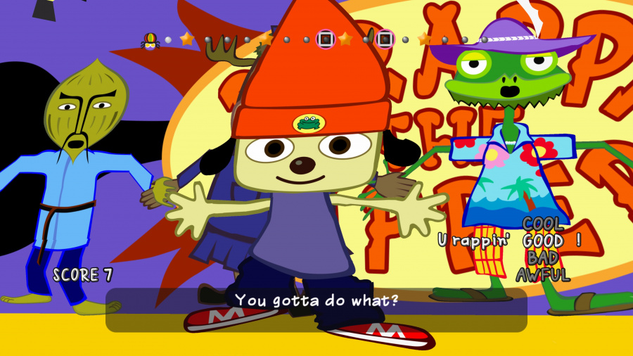PaRappa the Rapper Remastered Review - Screenshot 2 of 4
