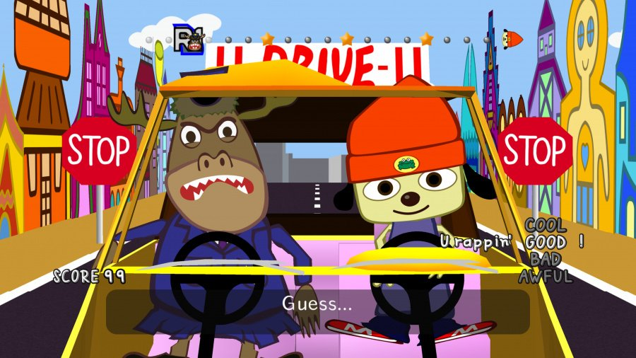 PaRappa the Rapper Remastered Review - Screenshot 1 of 3