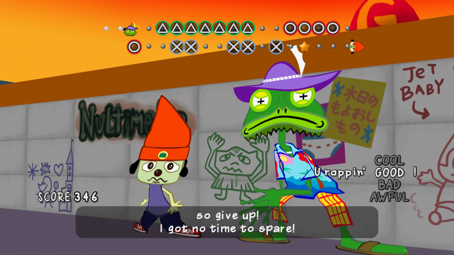 PaRappa the Rapper Remastered Review - Screenshot 3 of 4
