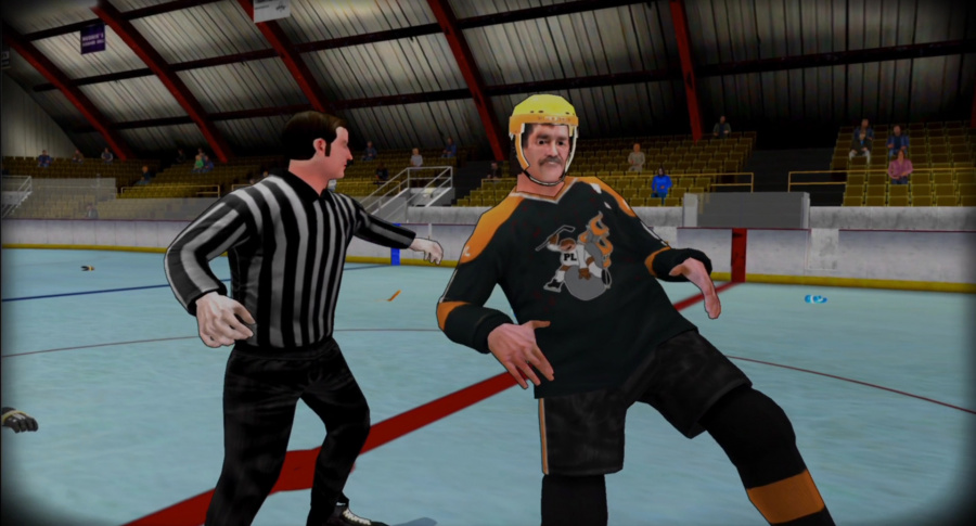 Old Time Hockey Review - Screenshot 1 of 3
