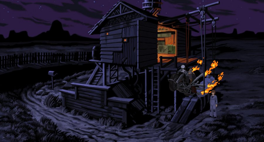 Full Throttle Remastered Review - Screenshot 1 of 4
