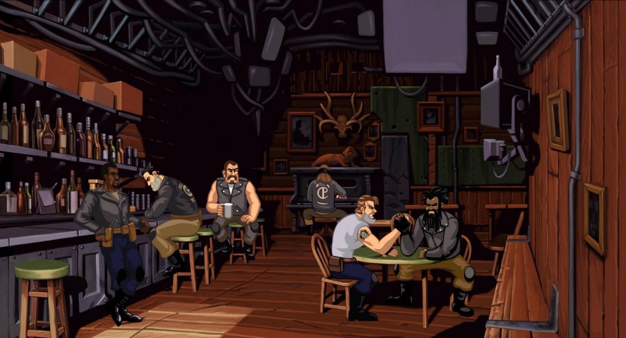 Full Throttle Remastered Review - Screenshot 2 of 4