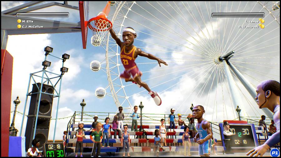 NBA Playgrounds Review - Screenshot 1 of 4