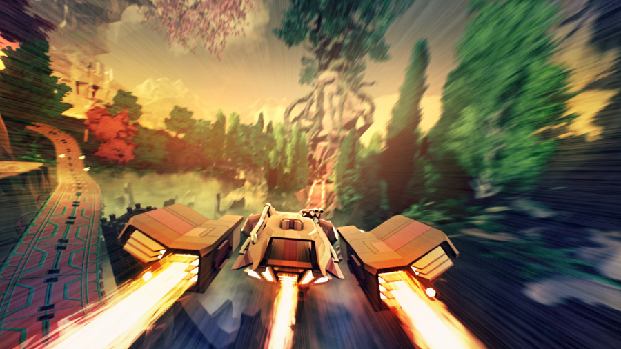 Redout: Lightspeed Edition Review - Screenshot 1 of 3