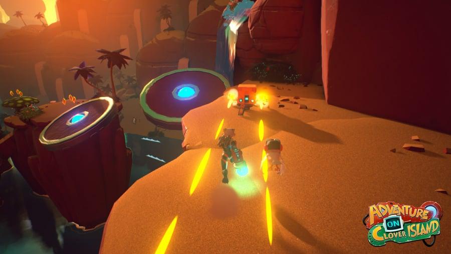 Skylar & Plux: Adventure on Clover Island Review - Screenshot 1 of 4