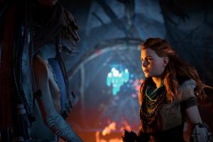 Horizon Zero Dawn: The Frozen Wilds Screenshot