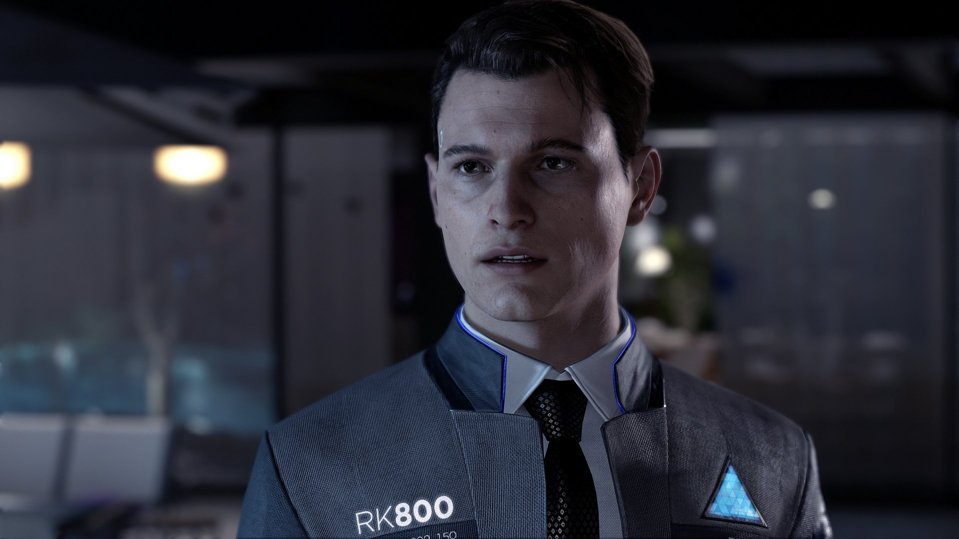 Connor Detroit Become Human Wallpaper: Detroit: Become Human (PS4 / PlayStation 4) News, Reviews