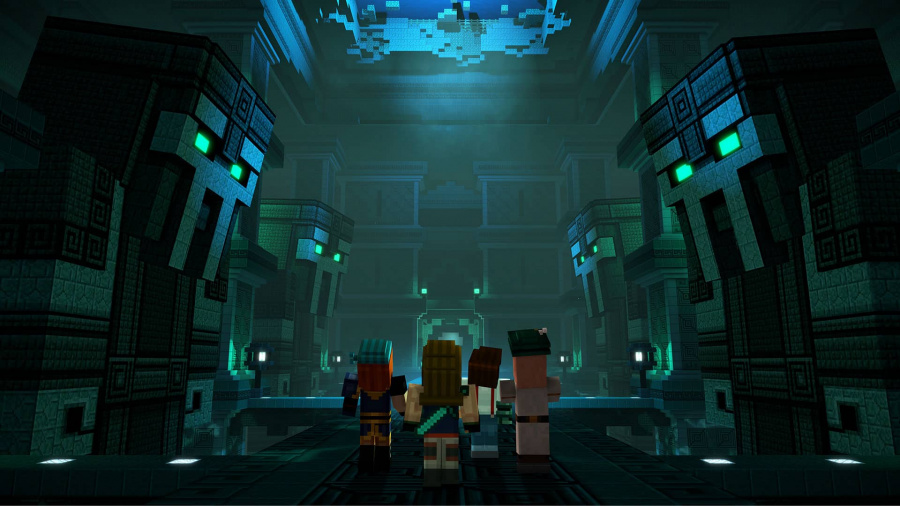 Minecraft: Story Mode Season Two - Episode 1: Hero in Residence Review - Screenshot 3 of 3
