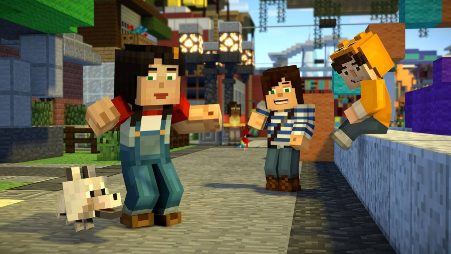 Minecraft: Story Mode Season Two - Episode 1: Hero in Residence Review - Screenshot 1 of 2