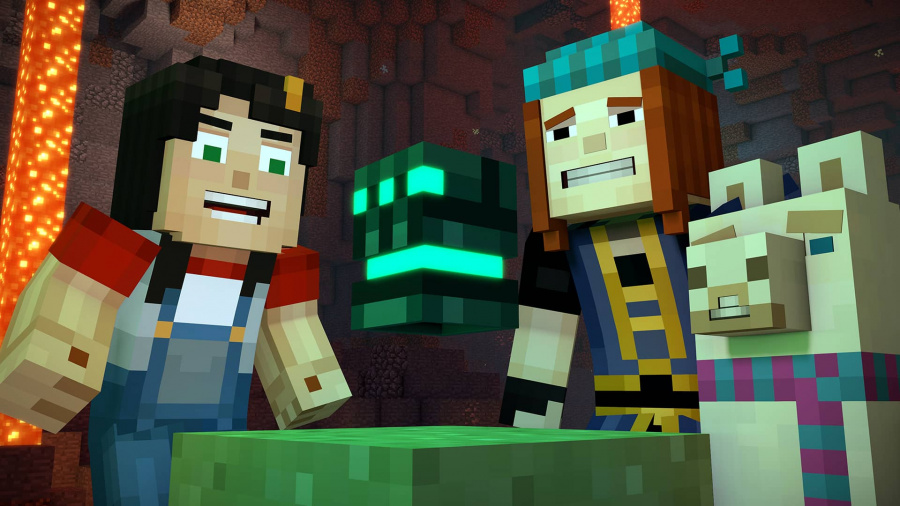 Minecraft: Story Mode Season Two - Episode 1: Hero in Residence Review - Screenshot 2 of 3