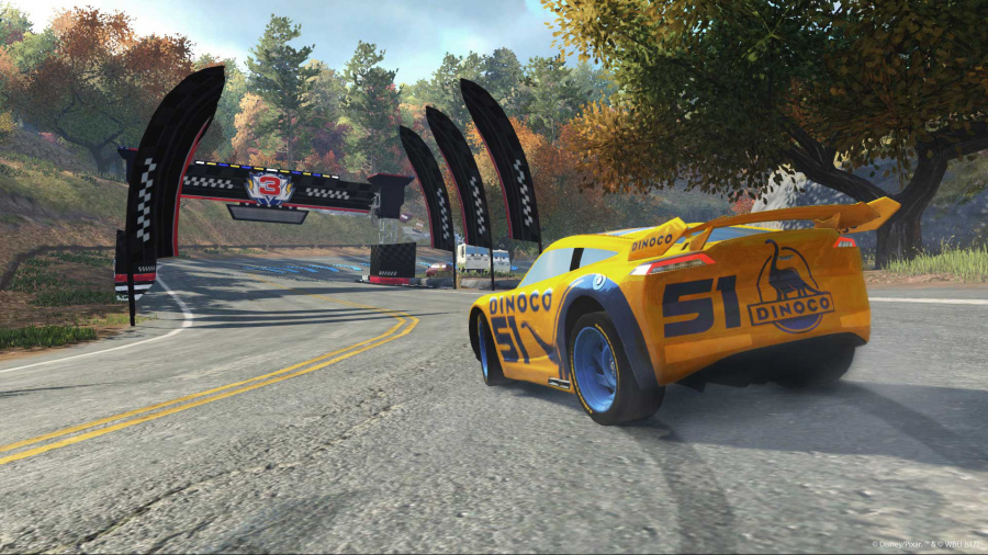 Cars 3: Driven to Win Review - Screenshot 1 of 3