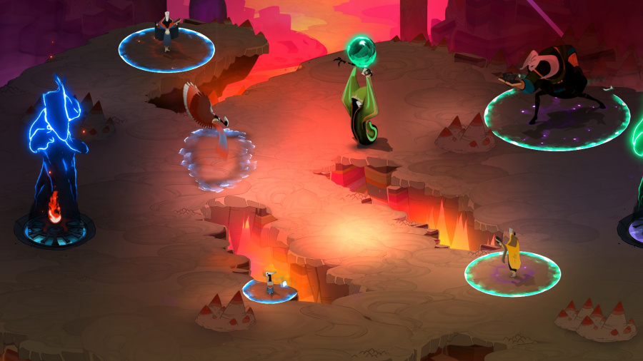Pyre Review - Screenshot 1 of 4