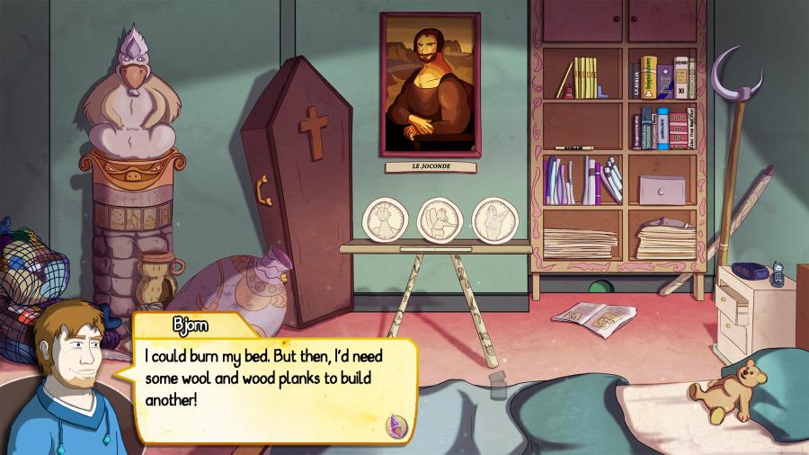 Demetrios - The BIG Cynical Adventure Review - Screenshot 1 of 3