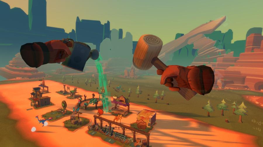 Dino Frontier Review - Screenshot 1 of 4