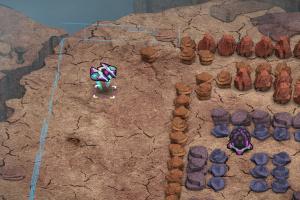 Comet Crash 2: The Kronkoid Wars Screenshot