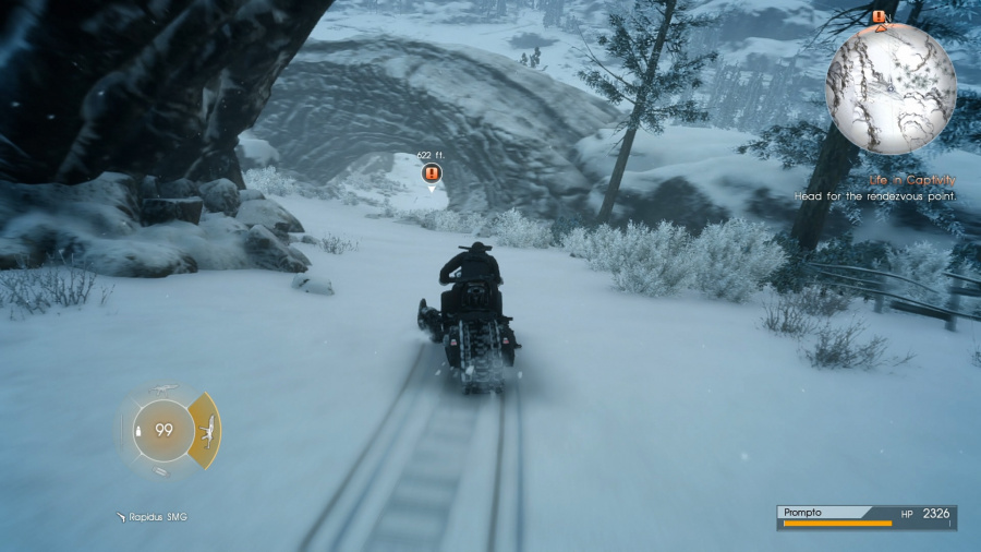 Final Fantasy XV: Episode Prompto Review - Screenshot 1 of 3