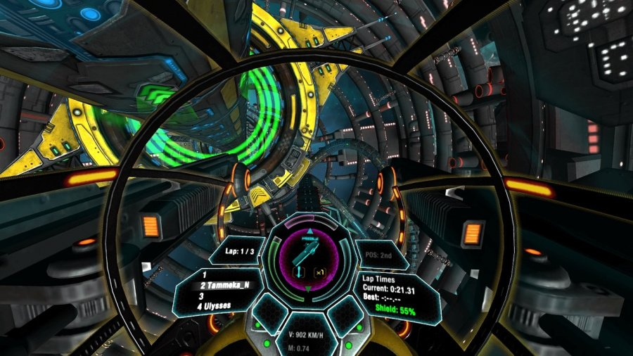Radial-G: Racing Revolved Review - Screenshot 1 of 3
