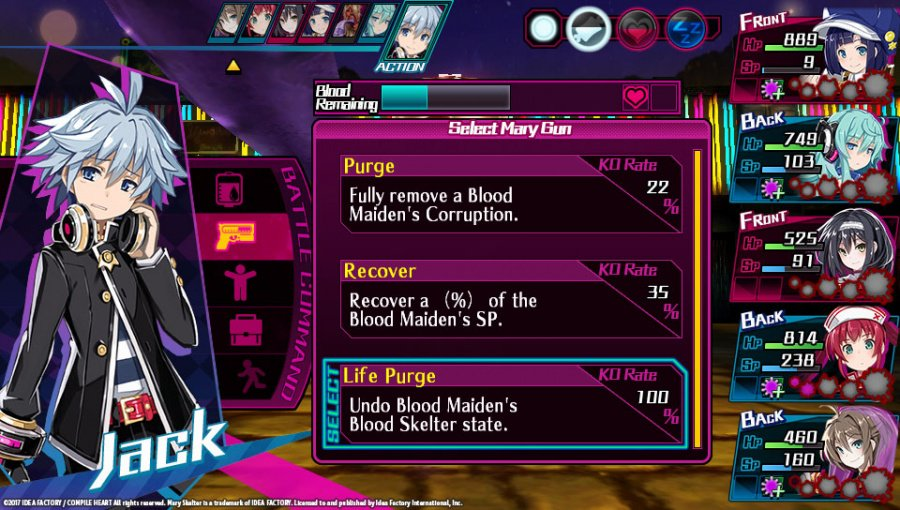 Mary Skelter: Nightmares Review - Screenshot 1 of 4