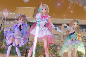 Blue Reflection Screenshot