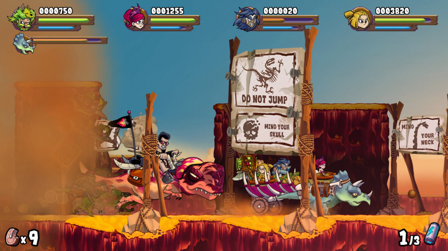 Caveman Warriors Review - Screenshot 2 of 3