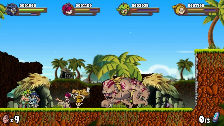 Caveman Warriors Review - Screenshot 1 of 3