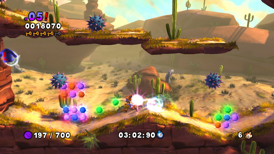 Bubsy: The Woolies Strike Back Review - Screenshot 1 of 3