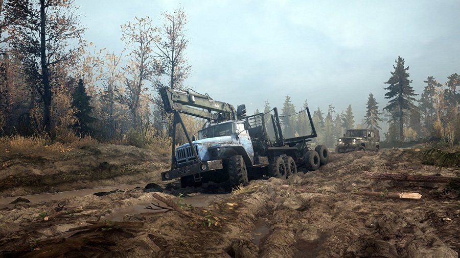 Spintires: Mudrunner Review - Screenshot 2 of 4