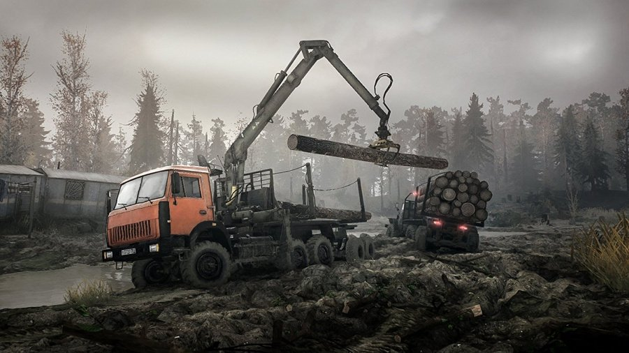 Spintires: Mudrunner Review - Screenshot 1 of 3