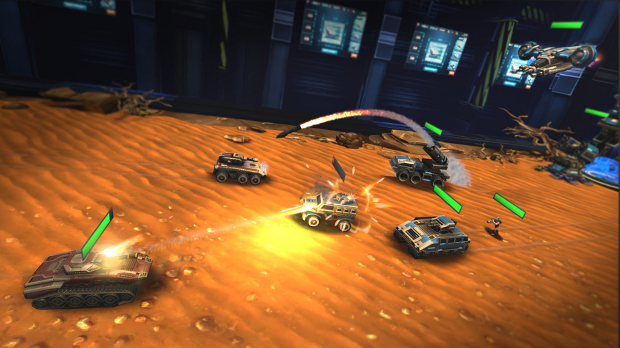 League of War: VR Arena Review - Screenshot 1 of 3