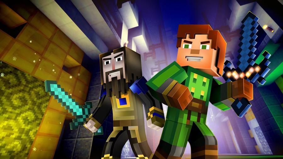 Minecraft: Story Mode Season Two - Episode 4: Below the Bedrock Review - Screenshot 1 of 2