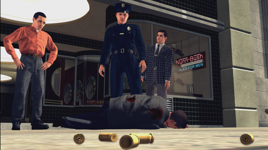 L.A. Noire Review - Screenshot 1 of 4