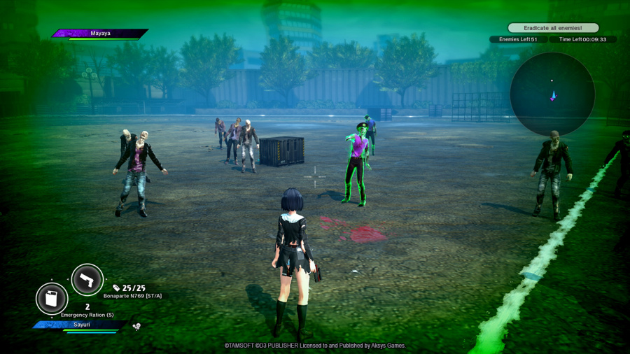 School Girl/Zombie Hunter Review - Screenshot 1 of 3