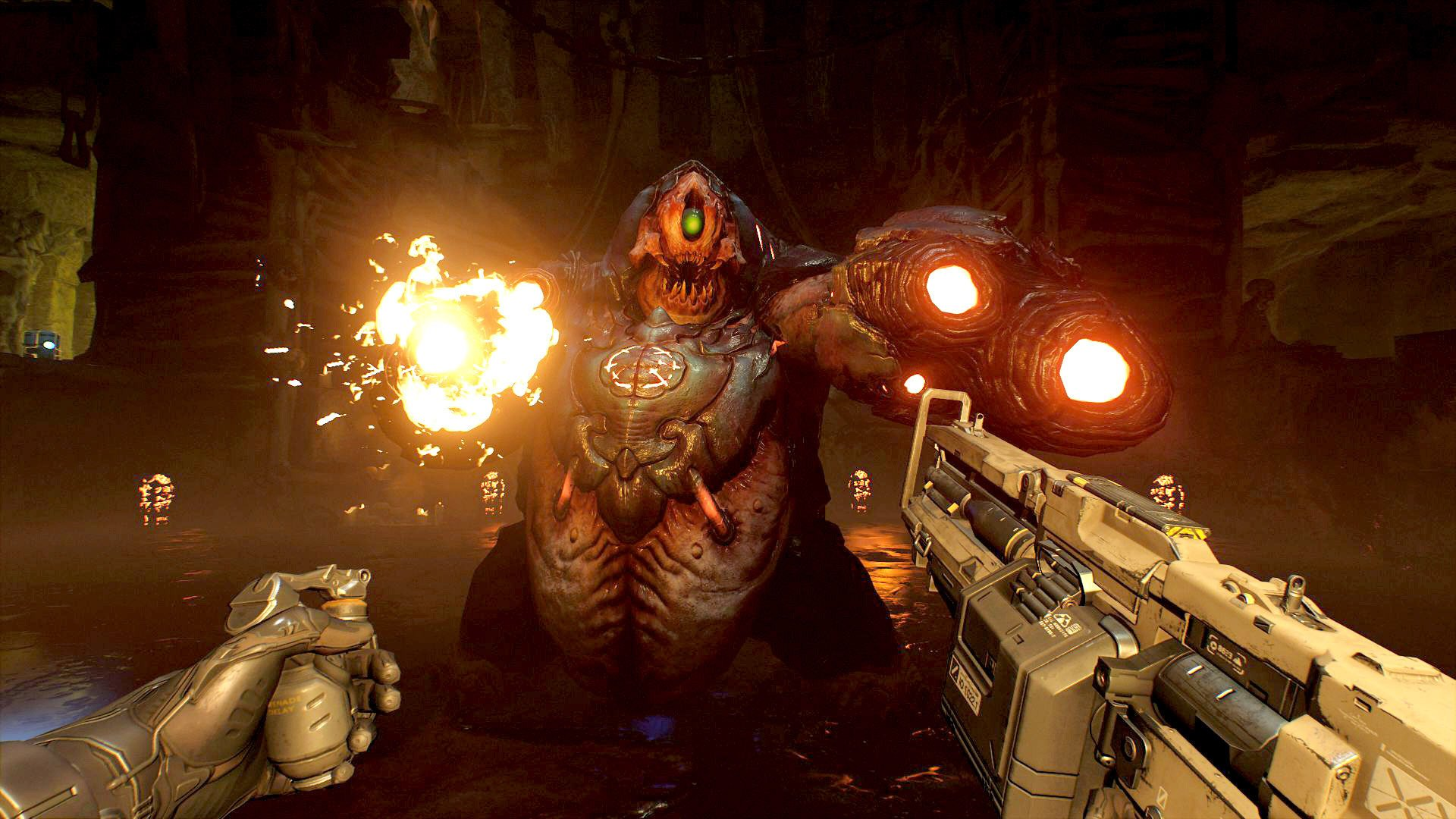 DOOM VFR Gets a Launch Trailer; PC Configuration Requirements Revealed