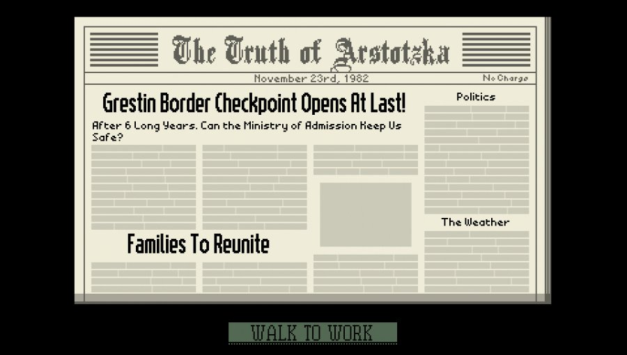 Papers, Please Review - Screenshot 3 of 3