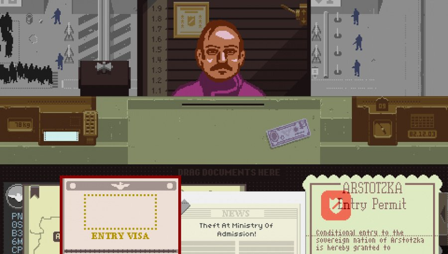 Papers, Please Review - Screenshot 2 of 3