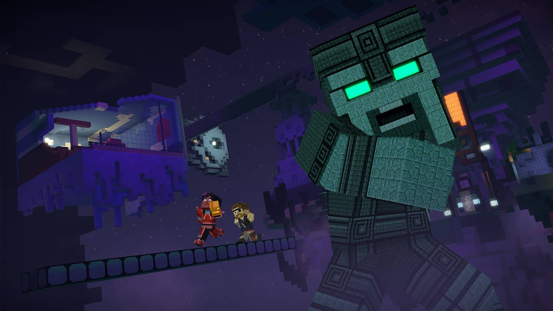 Minecraft: Story Mode Season Two   Episode 5: Above And Beyond Review    Screenshot