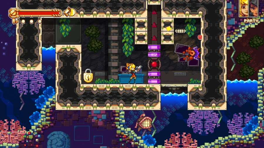 Iconoclasts Review - Screenshot 3 of 4